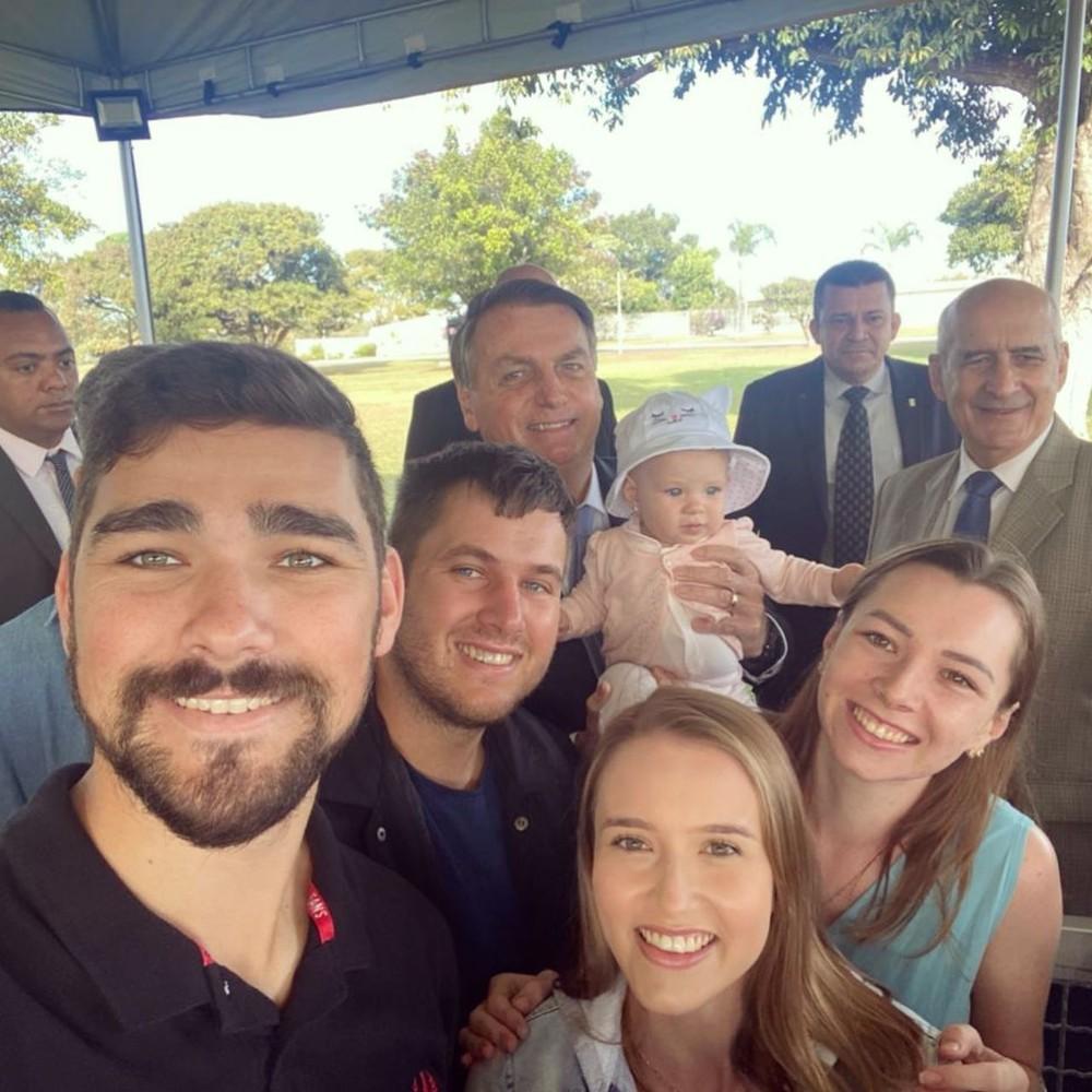 Jair Messias Bolsonaro, General Ramos, Paládio da Alvorada