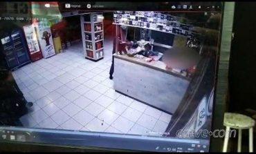 Imagens flagram momento que jovem é executado a tiros em tabacaria de Marialva