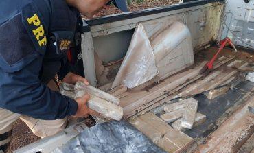 PRF prende peruano com 75 quilos de maconha na BR-277, em Santa Terezinha de Itaipu