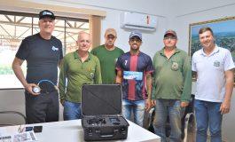 Secretaria de Saneamento de Entre Rios do Oeste investe em equipamento que 'ouve' vazamentos de água