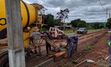 Obras no Bairro Marechal estão em andamento