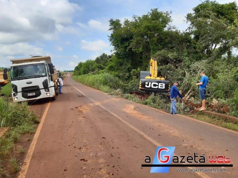 Alerta: Motoristas deverão trafegar com mais atenção em trecho da rodovia que liga a sede de Marechal Rondon ao distrito de Margarida