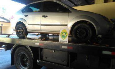BPFron recupera em Guaíra veículo furtado em Marmeleiro-PR