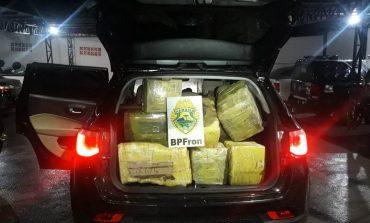 BPFron apreende mais de meia tonelada de maconha em Toledo