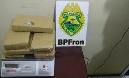 BPFron prende passageiro com 15 quilos de maconha em ônibus, durante Operação Hórus