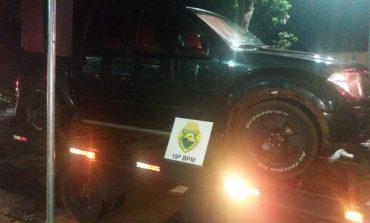 Caminhonete e barco roubados no interior de Marechal Rondon são recuperados pela PM em Mercedes