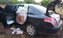 BPFron apreende veículo carregado com cigarros contrabandeados em Nova Santa Rosa