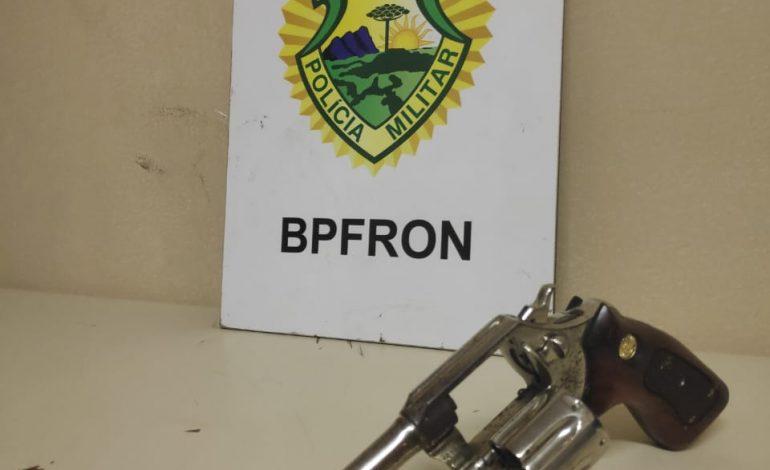 Operação Hórus: BPFron apreende arma de fogo após abordagem em Foz do Iguaçu