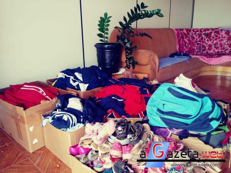 Provopar de Mercedes realizou distribuição de uniformes e mochilas escolares