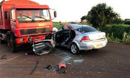 Jovem de 27 anos morre em acidente na BR-163 entre Quatro Pontes e Toledo na tarde de hoje (4)