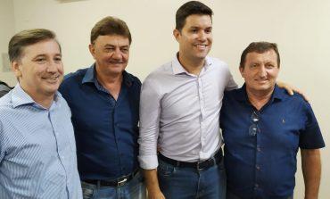 Prefeito e vice de Nova Santa Rosa participam de reunião com chefe da Casa Civil do Paraná