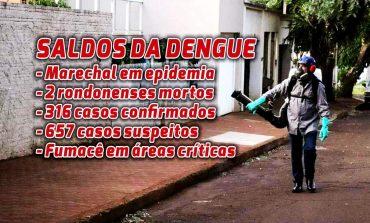 Saúde aplica fumacê nas regiões do Eron Domingues, UPA 24 Horas e hospitais Cruzatti e Rondon