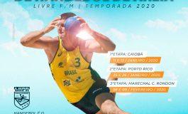 Circuito Paranaense de Handebol de Areia será realizado neste final de semana em Porto Mendes