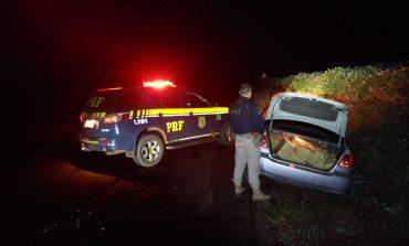 Polícia Rodoviária Federal apreende meia tonelada de maconha e prende condutor de veículo em Guaíra