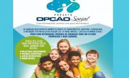 """Projeto """"Opção Social"""" inicia atividades na próxima segunda-feira (10) em Nova Santa Rosa"""