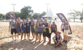 Conhecidos os vencedores do Circuito Paranaense de Handebol de Areia em Porto Mendes