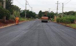 Prefeitura de Marechal Rondon finaliza pavimentação em trecho da rua São Paulo