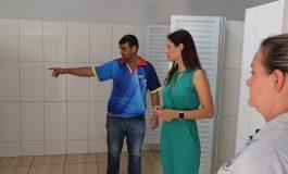 Obras de reforma e ampliação do CAF chegam à reta final em Marechal Rondon
