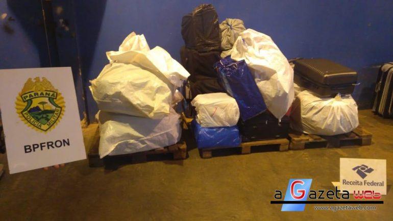 BPFron apreende R$ 52 mil em mercadorias contrabandeadas