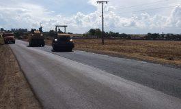 Concluído o asfalto na rodovia Margarida/Pato Bragado
