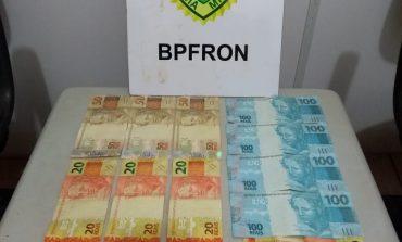 BPFron prende dois homens com dinheiro falso em Pato Bragado
