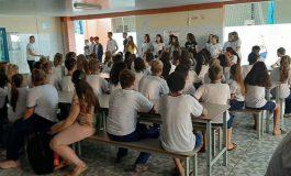 Coral Municipal Juvenil de Nova Santa Rosa participa de Recreio Cultural no Gaspar Dutra