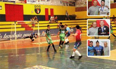 Rodada do Futsal de Nova Santa Rosa ocorre hoje (6) com transmissão 'ao vivo' no site A Gazeta Web