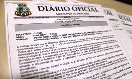 Mercedes publica decreto que dispõe sobre medidas para enfrentamento do coronavírus no município