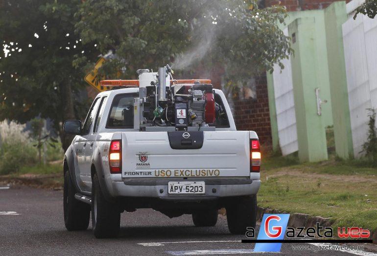 Combate à dengue: Carros do fumacê entrarão em ação nesta sexta-feira em Marechal Rondon
