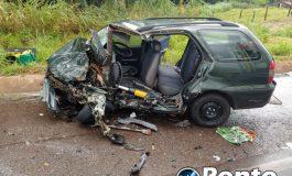 Acidente entre Mercedes e Marechal Rondon deixa motoristas gravemente feridos
