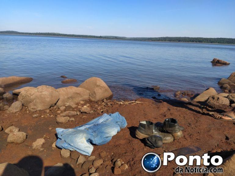Jovem desaparece no Lago de Itaipu em Mercedes