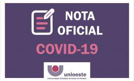 Unioeste decide suspender aulas como prevenção à Covid-19