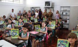 Aula inaugural do Proerd é realizada na Escola Criança Feliz em Marechal Rondon