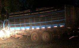 Operação Hórus realiza apreensão de caminhão com cerca de 500 caixas de cigarros em Marechal Rondon