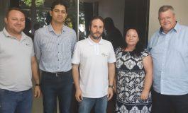 Integrantes do Parque Tecnológico Itaipu visitam a prefeitura rondonense
