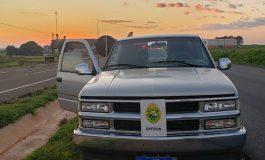 BPFron recupera caminhonete antes mesmo do proprietário perceber o furto