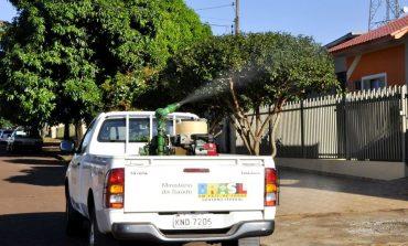 Fumacê inicia hoje (30) em Assis Chateaubriand, com dois veículos devido à epidemia de dengue