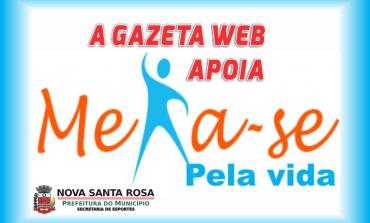 Projeto esportivo online em Nova Santa Rosa terá apoio do site A Gazeta Web