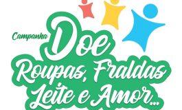 Está em andamento a campanha Doe Roupas, Fraldas, Leite e Amor em Marechal Rondon