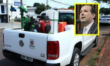Micheletto solicita reforço na frota dos veículos de fumacê da 20ª Regional de Saúde