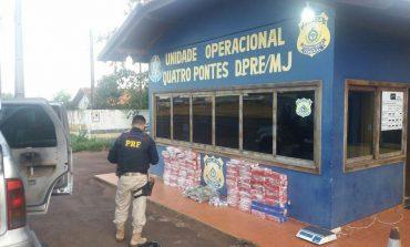 Polícia Rodoviária Federal prende homem com 260 quilos de maconha em Marechal Rondon