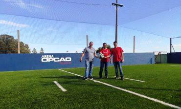 Inaugurada a primeira Arena de Futebol Society de Nova Santa Rosa