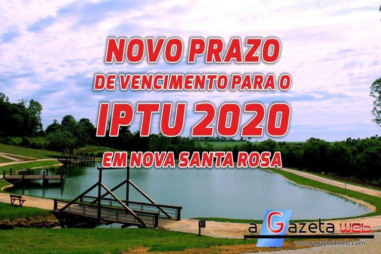 Carnê do IPTU pode ser retirado na Prefeitura de Nova Santa Rosa e pela internet com novo prazo de pagamento