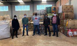 Representantes de Mercedes visitam Unidade de Recicláveis de Terra Roxa