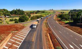 Dnit libera mais oito quilômetros de pista duplicada da BR-163, entre Quatro Pontes e Toledo, nesta semana