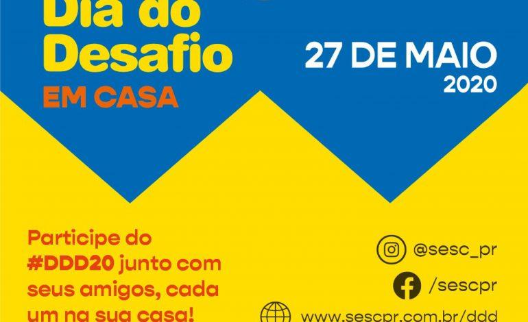 Dia do Desafio acontece hoje (27) de forma online em Marechal Cândido Rondon