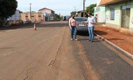 Recapeamento asfáltico será realizado neste final de semana na Avenida Dr. Mário Totta em Mercedes