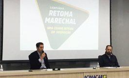 """Prefeitura e Acimacar lançam a campanha """"Retoma Marechal"""""""