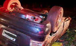 Morador de Santa Helena, de 22 anos, morre após capotar veículo na PR-495 em Entre Rios do Oeste