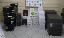 BPFron apreende carga com 650 garrafas de vinhos, avaliadas em cerca de R$ 200 mil